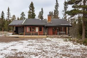 Detta fritidshus i Transtrand kom på femte plats på Dalarnas Klicktoppen för vecka 45. Foto: Andreas Timfält/Husfoto