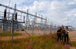 Kraftverket vid Laforsen är ett prioriterat skyddsområde. Det är igång, men vissa kraftledningar stängs av när personal arbetar i närheten.