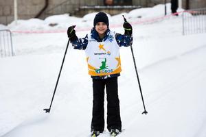 Khaled Benothman åker gärna skidor när han får tillfälle.