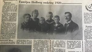 Från Bärgslagsbladet 9 maj 1978, artikel skriven av Oskar Björnänger.
