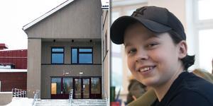Johan Törnberg hinner förhoppningsvis även vara med och flytta in i den nya om- och tillbyggnaden för årskurserna 7-9, som nu har påbörjats.