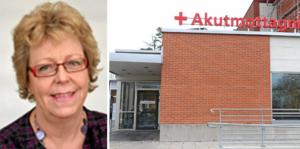 Ewa Sundkvist (KD) svarar på debattartikel om Lindesbergs lasaretts framtid.