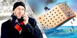 Regiondirektör Hans Wiklund lämnar Region Västernorrland, som ofta liknas vid en gigantisk båt och som nu får segla vidare på stormigt vatten.