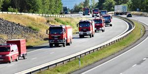 """""""Förra sommaren brann det i skogarna i Dalarna och vi var oroliga hur det skulle sluta."""" """"... en hel armé av polska brandsoldater med brandbilar kom till vår räddning"""" skriver  Gösta Frost (S), Mora."""