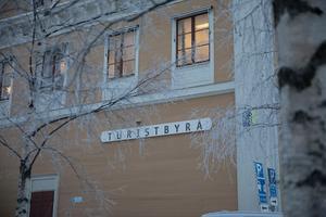 Turistbyrån i centrala Östersund.