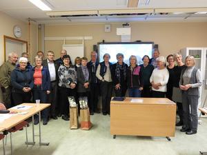 Deltagare på STF:s regionala träff i Härnösand STF. Foto: Kurt Söderlund