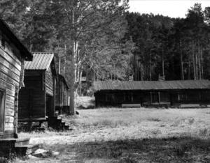 1973. Hembygdsgården i Hoverberg.