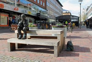 Knutte Westers skulptur