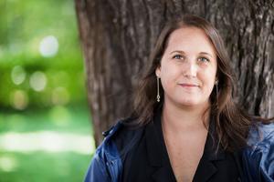 Camilla Bergvall,förbundsordförande för Djurens Rätt.