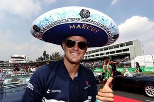 Arriba! Marcus Ericsson gjorde ett av säsongens bästa race i Mexiko, men hade otur med tajmingen på den artificiella säkerhetsbilen igen. Arkivfoto: Sauber motorsport