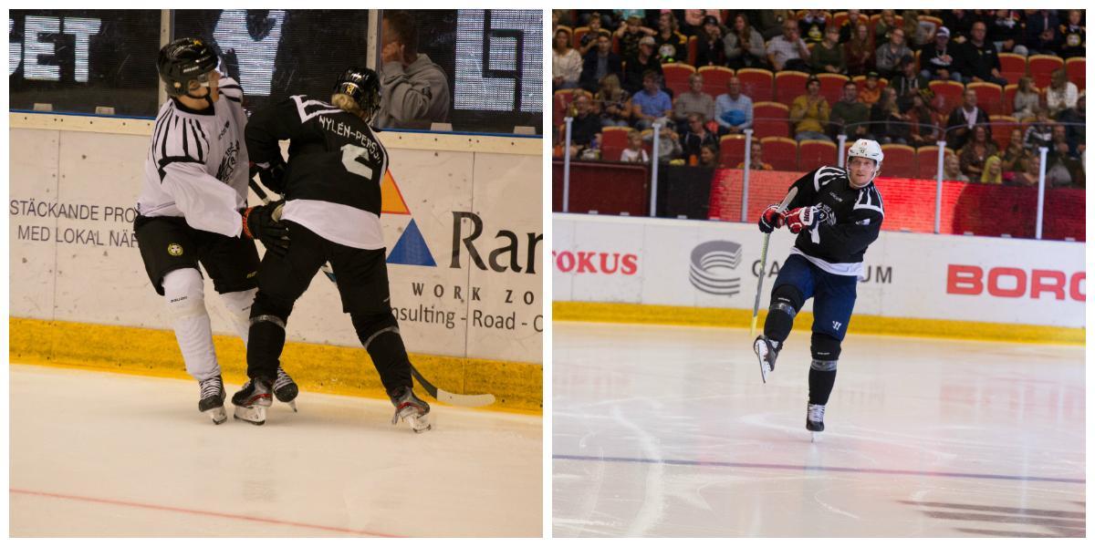 Nylén Persson glänste i Brynäs internmatch – så vill hon förändra framtidens hockey: