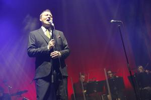 Konserten i Sandviken var den första på årets julturné.