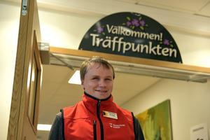 Patrik Lundstedt får jobba kvar vid Träffpunkten i Själevad.