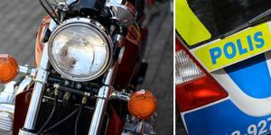 Den körkortslöse 35-åringen är misstänkt för att ha kört motorcykel med 1,02 promille i blodet. Han åtalas även för att ha gjort våldsamt motstånd i samband med ett polisingripande i Malung.