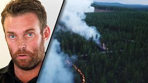 Nu lämnar Hans Nornholm över uppdraget som operativ chef vid skogsbränderna i Ljusdal.