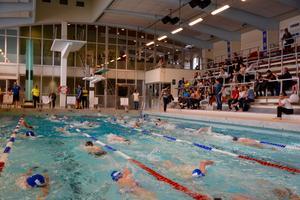 Det kommer bli en intern tävling i Värnamo simhall på första maj. Bilden är en arkivbild från Värnamo simhall.