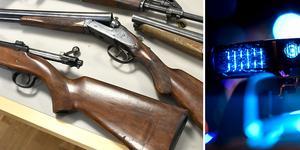 Arkivbild: Scanpix. Vapnen på bilden har ingen direkt koppling till de aktuella stölderna.