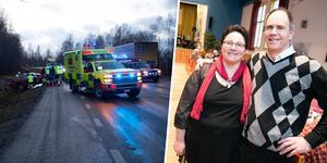 En otäck trafikolycka utanför Ludvika gjorde att familjen Karlén tvingades ställa in julfesten förra året. Nu har man repat nytt mod.
