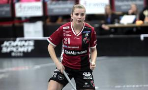 Moa Gustafsson är en av spelarna från Kais Mora som är kallad till ett landslagsläger på Gotland.