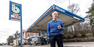 Berndt Larsson, tidigare ägare av bensinmacken i Turinge, blev årets hedersmedborgare 2018. Foto: Nykvarns kommun