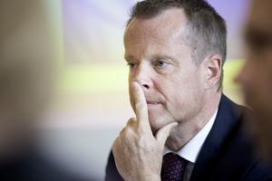 Anders Ygeman var inte nöjd med alla delar i budgeten.