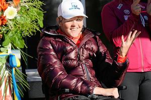 Anna Holmlund rehabilitering sedan olyckan har gått bra, men än återstår en lång väg.