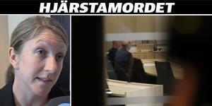 Åklagaren Åsa Hiding berättar nu att Lena Wesström bragts om livet genom att kraftigt våld riktats mot hennes kropp.