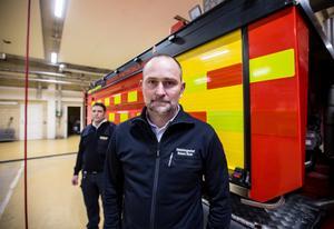 Robert Strid, räddningschef Gästrike Räddningstjänst.