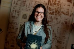 Båtbyggaren och seglingsälskaren Karin Gafvelin har gjort serieboken