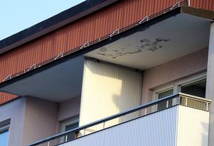 Solsken, plusgrader gör att det i år är möjligt att använda balkongen även på vintern.