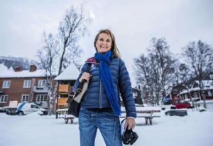 Helén Sjöström går vidare. Foto: Ago Mitt i Åre.