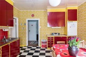 Färgglatt kök.