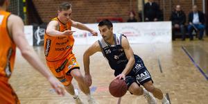 Aleksa Solevic var även han tillbaka från skada. Solevic blev poängbäst i laget med sina 18.