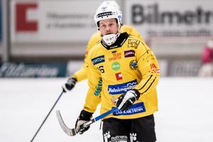 En skarp profil på halven – och där vill han gärna fortsätta spela, Jonas Nygren.