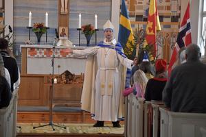 Biskop Mikael Mogren vd sin visitation av Idre-Särna församling.