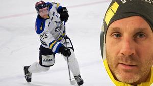 Conny Strömberg har koll på Fredrik Orrstens dominans i kvalserien till Hockeyettan. Samtidigt spelar Strömberg allsvensk kvalseriehockey med VIK.