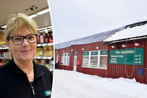 Viktoria Melin är butikschef på Tempo i Indal.