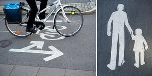 Planerna på att bygga en gång- och cykelväg genom Hackås skjuts upp. Foto: TT