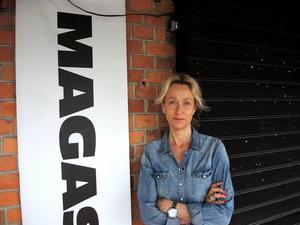 Magdalena Omne, en av de som driver Magasinet i Falun.Foto: Mats Nilsson/Arkiv