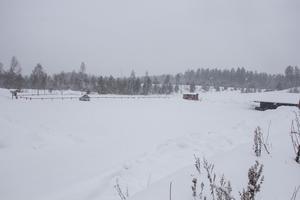 En del av det område som Biltema kommer att vara beläget på. Varuhusjätten kommer att bli granne med bland andra Åsbobacken.