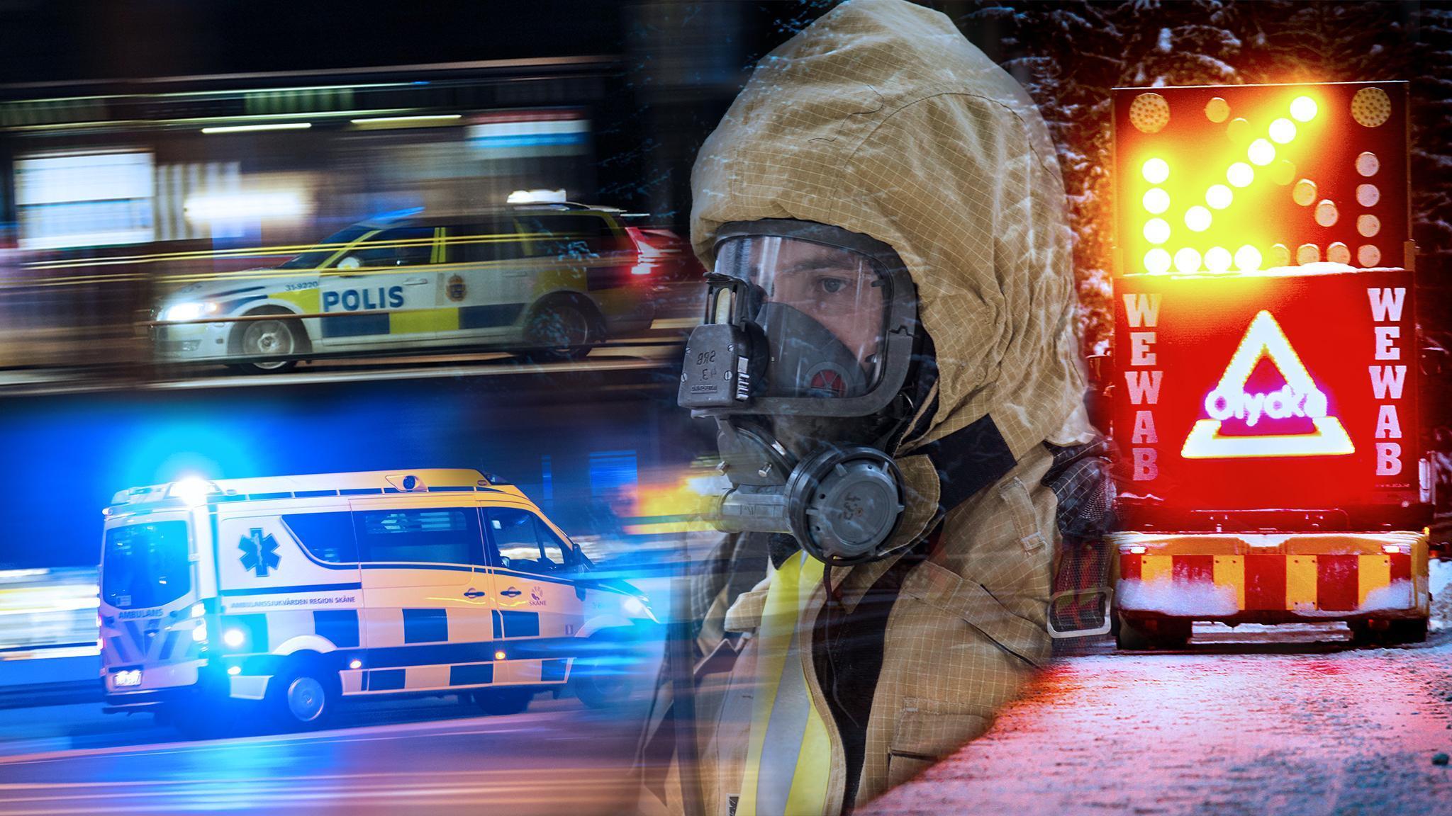Fredagens blåljus: Två bilar kolliderade utanför Söderhamn och svärmodern vittnade om mordnatten