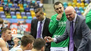 Vedran Bosnic kunde inte göra så mycket åt det tyska laget.