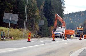 Under hösten så har sex korsningar längs E14 förberetts för uppsättning av fartkameror.