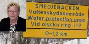 """""""Vi kan heller inte riskera vårt fina vatten, det viktigaste livsmedlet, på grund av att ett företag vill borra efter mineraler"""" skriver  Lena Ludvigsson-Olafsen (S). Foto: Torbjörn Granling/Harri Sternljung/Montage"""