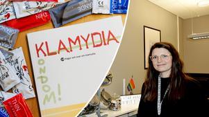 Förekomsten av klamydia ökade kraftigt mellan 1997 och 2007 för att därefter plana ut och sedan 2015 börja sjunka. Katarina Jansson, som är barnmorska vid en av länets ungdomsmottagningar, är givetvis glad över utvecklingen.