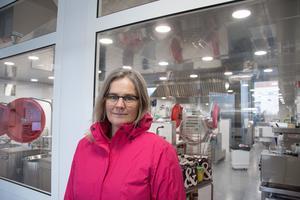 Projektledare Kristine Bergström ser en mängd fördelar med det nya systemet.