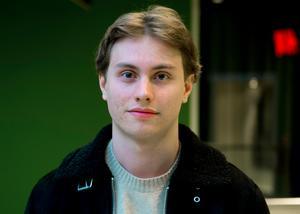 Emil Ekman, 17 år, studerande, Sundsvall