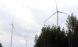 Problemen har varit stora med stölder kring vindkraftsbygget i Viksjö. Bilden är från en annan vindkraftspark.