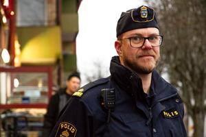 Thomas Nordström, kommunpolis Avesta och Hedemora.
