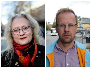 Agneta Nyvall (M) och HåGe Persson (M). Två oppositionsråd som borde veta bättre.